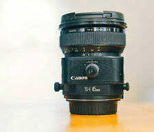 Canon TS-E 45mm Tilt Shift Lens Excellent Condition