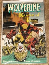 MARVEL WOLVERINE RAHNE OF TERRA TPB HIGH GRADE COMIC FREE BAGGED & BOARDED