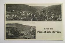 Ansichtskarte Mittelfranken Förrenbach Happurg 1954 gelaufen