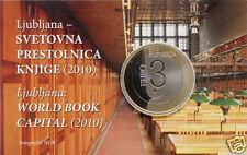 SLOVENIE COINCARD 3 EURO 2010 !!!!