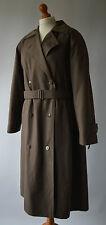 Ladies Brown Dannimac Trench Coat Mac Size Uk 16
