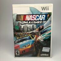 Wii Nascar Unleashed Video Game With Manual Activision