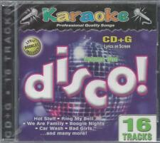 KARAOKE DISCO! VOL. ONE Bad Girls Got To Be Real Boogie Nights Get Down  NEW CD