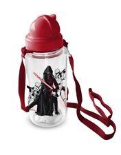 Disney Star Wars Trinkflasche Transparent Flasche Umhängeflasche 450 ml NEU
