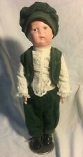 Vintage Schoenhut Antique Carved Wood Fully Jointed Doll Original Label 1911-13