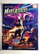 Mars Attack Tips Trading Card Poster - 8x10 Photo - Buy 3, Get 1 FREE!