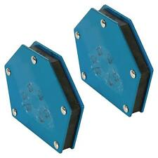 Welding Magnet Multi Angle Holder Clamp 18kg (40lb) 30° 45° 60° 75° 90° x2