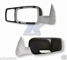 2015 2016 2017 2018 DODGE RAM 2500 CLIP SNAP-ON TOW SIDE MIRROR EXTENSION (PAIR)