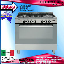 Emilia 80cm Dual Fuel Upright Cooker DI865EI4 Made in Italy  2 Years Warranty