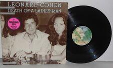 LEONARD COHEN Death Of A Ladies Man LP 1977 Warner Bros Press Folk Rock Vinyl