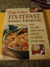 Betty Crocker Fix it Fast Family Fovorites Cook Book Hardback 2000