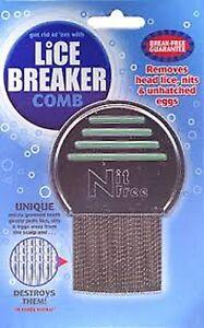 =>PRICE SMASH Lice Breaker Nit Comb Lice Comb ::Break Free Guarantee:: ::Unique