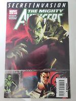 THE MIGHTY AVENGERS #18 (2008) MARVEL COMICS AMAZING STEFANO CASELLI ART!