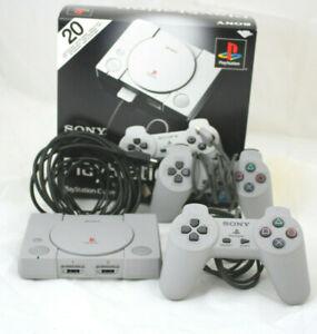 Sony PlayStation Classic mit 20 Spielen - Grau sehr guter Zustand  #C48 2911 J3