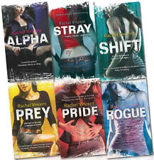Rachel Vincent Faythe Sanders Werecats 6 Books Collection Set (Alpha Shift Prey)