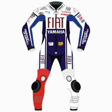 *YAMAHA,FIAT CUSTOM MOTORCYCLE LEATHER TRACK RACING SUIT-CE APPROVED SUIT*