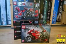 IN HAND READY TO SHIP - LEGO 42107 TECHNIC DUCATI PANIGALE V4 R (2020) - MISB