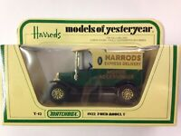 matchbox models of yesteryear Y12 Ford Model T Harrods Boxed Excellent Condition