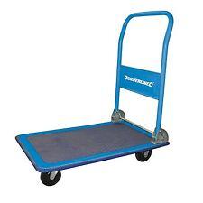 150KG Folding Platform Hand Truck Trolley Cart Sack Warehouse Transport Flat Bed