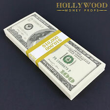 2000 Series 10K Stack Full Print - Quality Prop Money for Movie Prank Gift Play