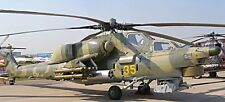Mi-28 Havoc Russia Mil Attack Helicopter Wood Model Replica Small Free Shipping
