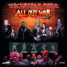 THE WALKING DEAD ALL OUT WAR SCATOLA BASE | GIOCO DA TAVOLO | NUOVO ITALIANO