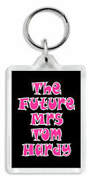 Mrs Tom Hardy Keyring / Bag Tag - Choose from 6 images *Great Gift!*