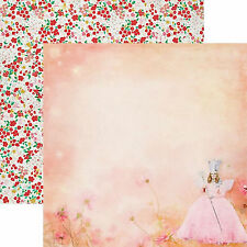 Paper House WIZARD OF OZ-GLINDA 12x12 Dbl-Sided Scrapbooking (2pc) Paper