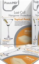 PatchMD Last Call Hangover Topical Patch 30-patches, Vitamin Supplement Patch-MD