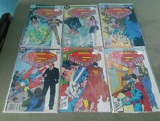 Superman Man of Steel 1 Thru 6  (DC) 1986 Mini-Series John Byrne/Dick Giordano