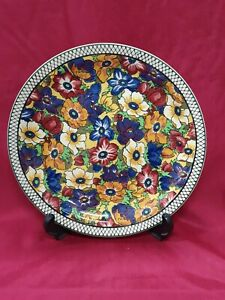 """Royal Doulton Collectors Rack Plates 1930's """"Floral Series"""" - D5856"""