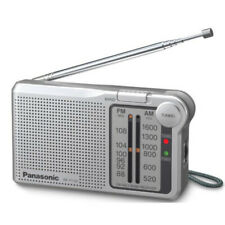 Panasonic RFP150DEG-S Portable AM/FM Radio Silver