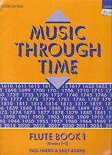 Music Through Time Flute & Piano Book 1 by Paul Harris & Sally Adams S67