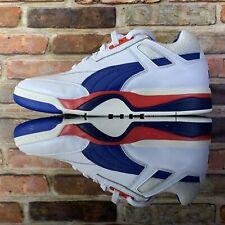 Puma Palace Guard OG Mens Retro Basketball Shoes White Blue 36958701 Size 10