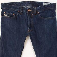 Mens Diesel SAFADO ORS4B Straight Slim Fit Blue Jeans W32 L34