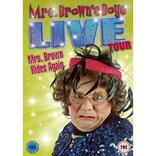 Mrs. Brown's Boys: Live Tour - Mrs. Brown Rides Again DVD - Brand new!
