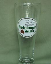 0,5l Weizenbier Weissbier Glas Riedenburger Weizen dickes randloses Glas