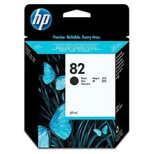 ORIGINAL & BOXED 2018 DATE HP82 / CH565A BLACK INK CARTRIDGE - SWIFTLY POSTED