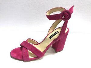 Nine West, Nikki Electric Pink High Heels, Size 8M