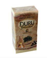 DURU OLIVE OIL HAND MADE TURKISH BATH, TURK HAMAMI SOAP with PIRINA,  900 gr