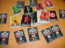 4 tarjetas de colección match coronó 2012/2013 para elegir