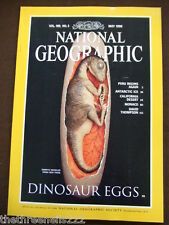 NATIONAL GEOGRAPHIC - DINOSAUR EGGS - MAY 1996
