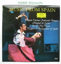 DG 135 029 - MUSIC FROM SPAIN - Turina / de Falla - Excellent Con LP Record