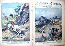436) 1938 GUERRA DI SPAGNA E INCIDENTE A SALISBURGO DOMENICA DEL CORRIERE