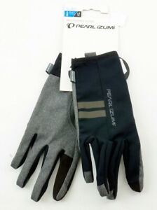 Pearl Izumi Men's Select Escape Thermal Cycling Gloves XXL Black Grey Multisport