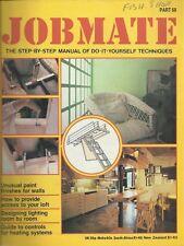 JOBMATE 68 DIY - HEATING, LIGHTING, LOFT ACCESS, PAINT