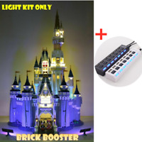 LED Light Kit for LEGO 71040 Disney Castle LIGHTING MY BRICKS Cinderella 71040