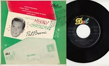 PAT BOONE - MERRY CHRISTMAS EP with PICTURE COVER