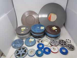 Huge Lot of 8mm 16mm Home Movies - Travel / Misc
