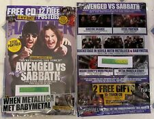 METAL HAMMER + Free CD March 2017 AVENGED Vs SABBATH Ozzy + 12 FREE POSTERS Code